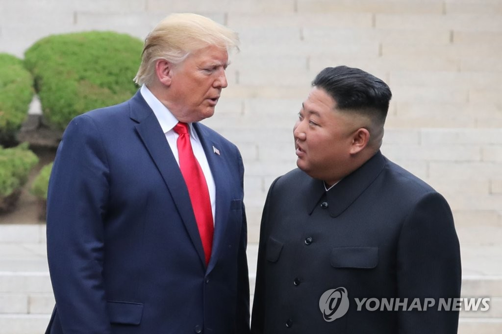 (News Focus) Is another Trump-Kim summit possible before U.S. election?