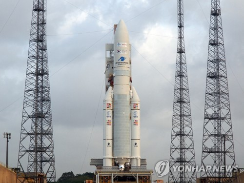 Countdown to launch of Korean satelite