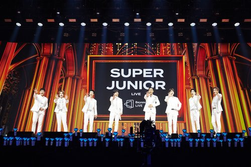 Super Junior's online concert