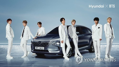 Hyundai Motor's hydrogen campaign with BTS