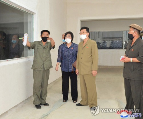 N. Korean premier inspects pharmaceutical plant