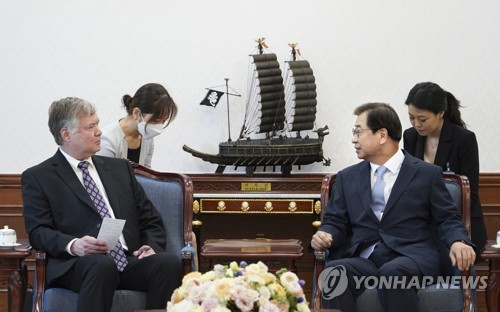NSC reaffirms importance of closer ties with U.S. after Biegun's visit