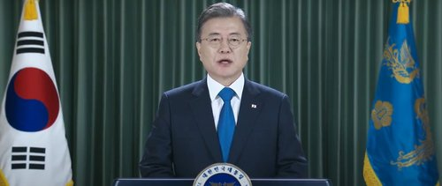 Moon proposes declaring end to Korean War