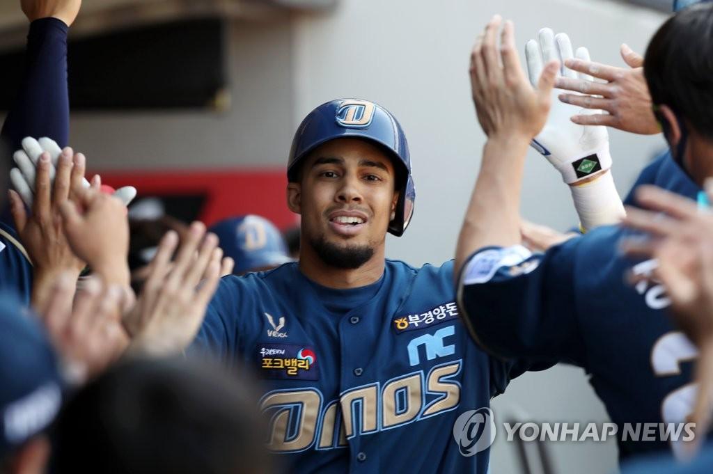 4 연승 NC, 공동 1 위 '점프'… 4 연속 5 연승 삼성, 공동 3 위 (총)